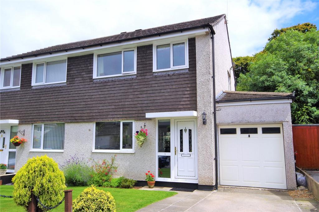 3 Bedrooms Semi Detached House for sale in Church Park Road, Yealmpton, Plymouth, PL8