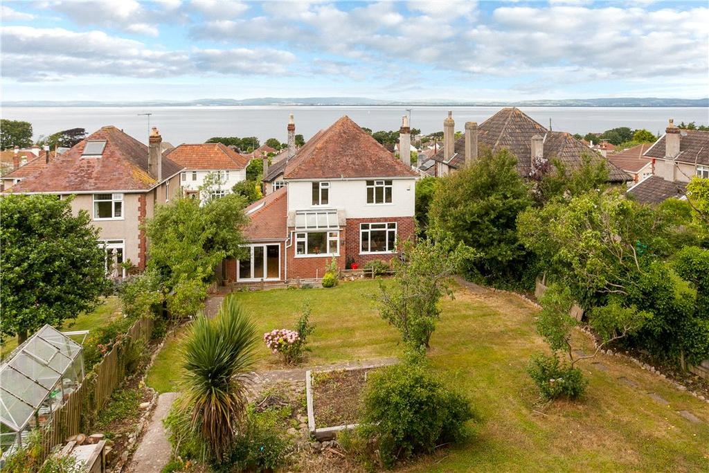 4 Bedrooms Detached House for sale in Kings Road, Clevedon, BS21