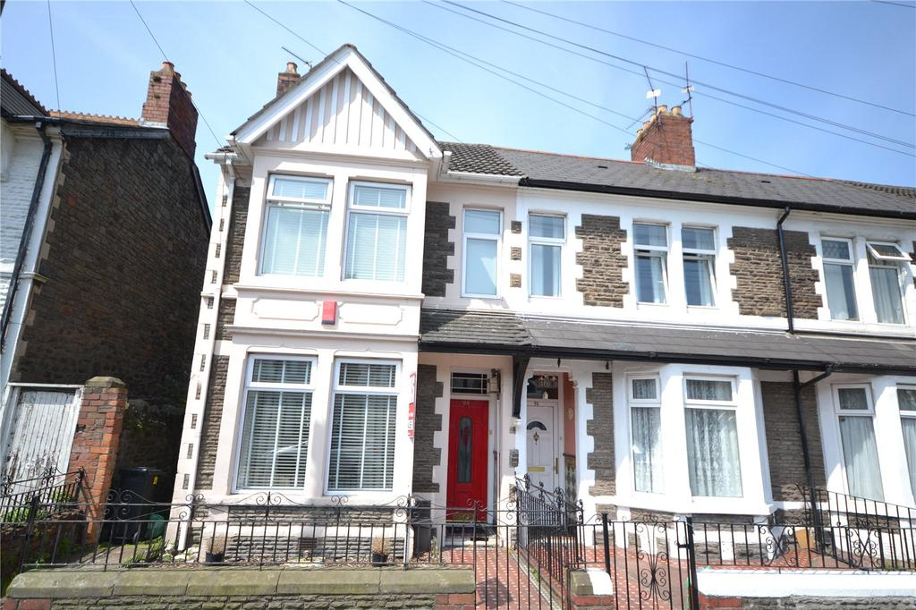 3 Bedrooms End Of Terrace House for sale in Moorland Road, Splott, Cardiff, CF24