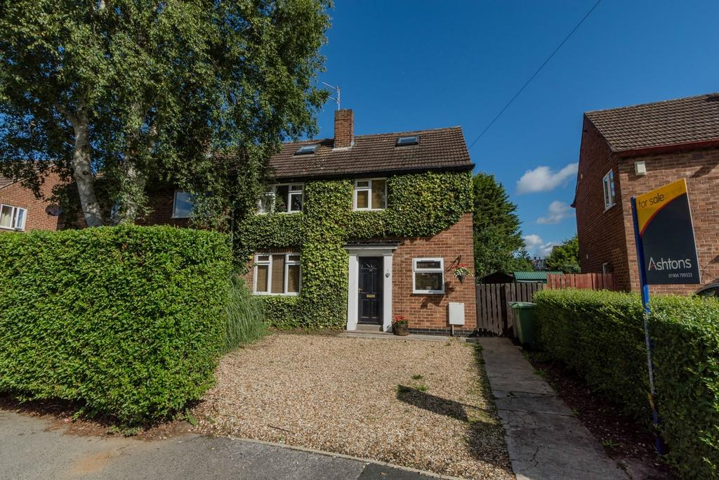 5 Bedrooms Semi Detached House for sale in Barkston Grove, Acomb, YORK
