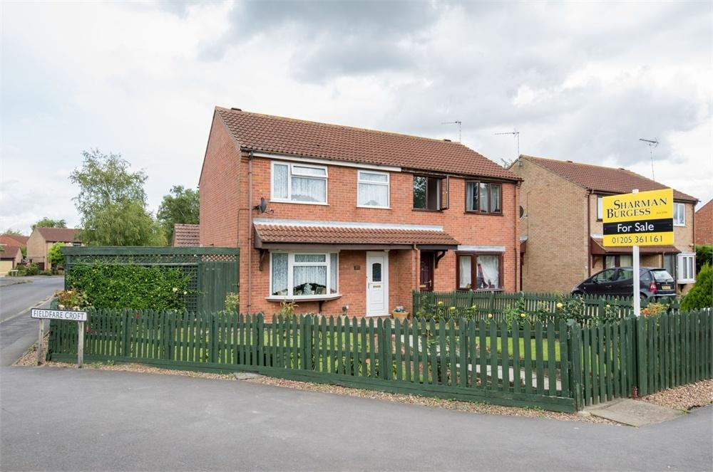 3 Bedrooms Semi Detached House for sale in Punchbowl Lane, Boston, Lincolnshire