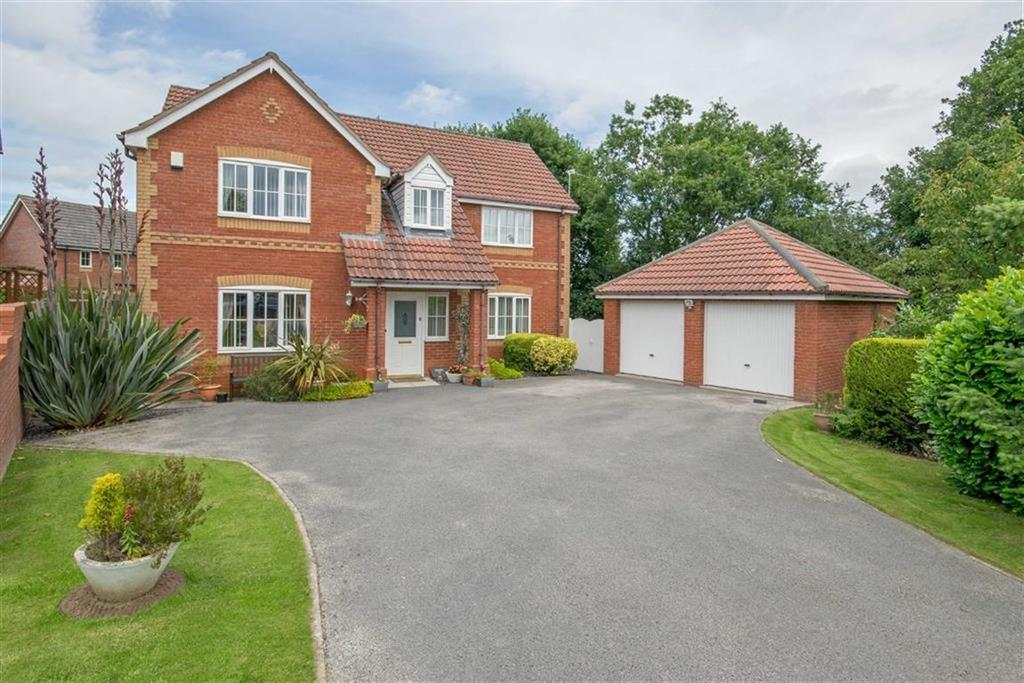 4 Bedrooms Detached House for sale in Cherry Drive, Bryn Y Baal, Mold