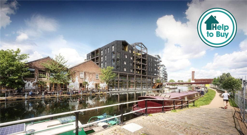 2 Bedrooms Apartment Flat for sale in Carpenters Wharf, Roach Road, E3