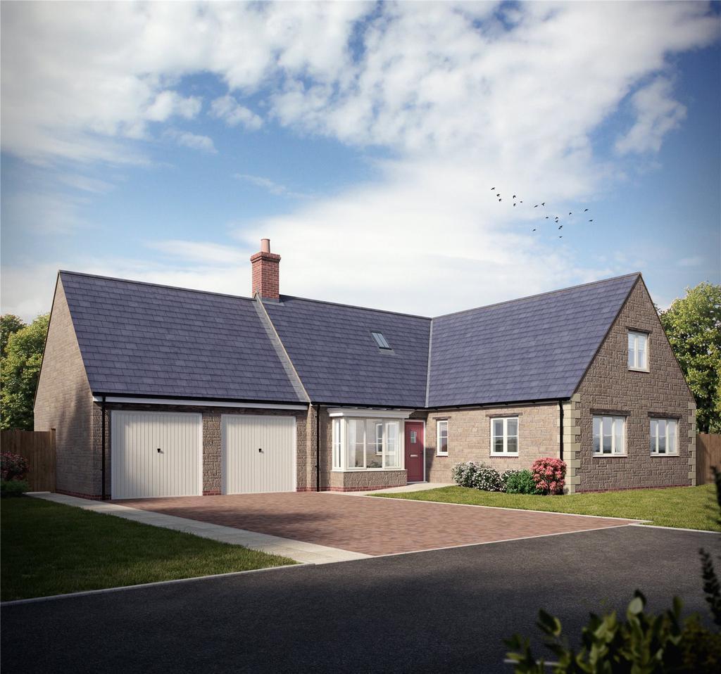 4 Bedrooms Detached Bungalow for sale in The Berrington, Hampton Drive, Kings Sutton, Banbury, Oxfordshire, OX17