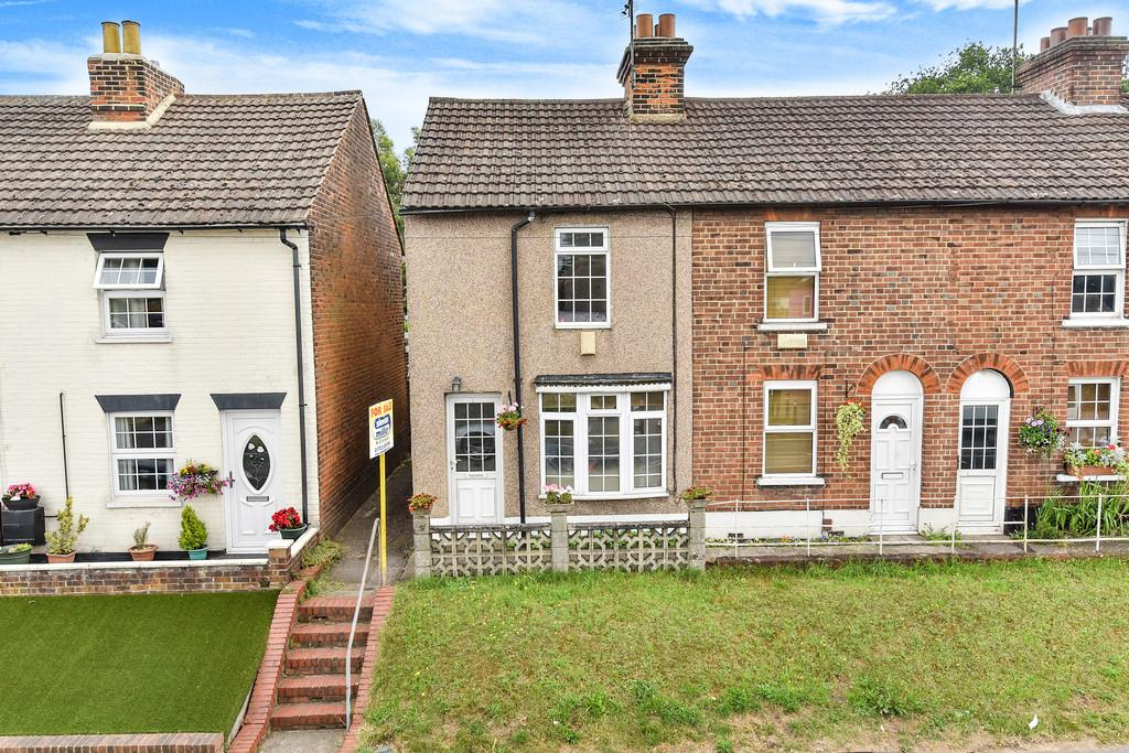 2 Bedrooms End Of Terrace House for sale in London Road, Larkfield