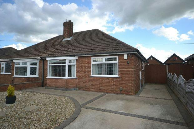 2 Bedrooms Semi Detached Bungalow for sale in The Ridgeway, Grimsby