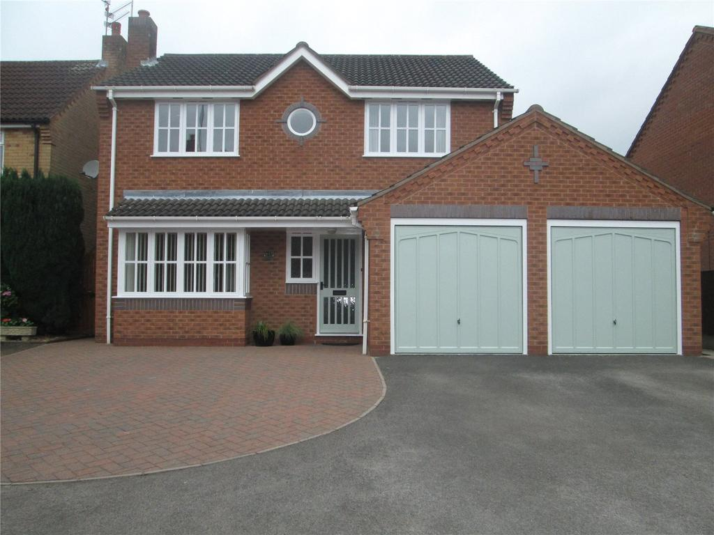 4 Bedrooms Detached House for sale in Candlemass Court, Mansfield Woodhouse, NG19