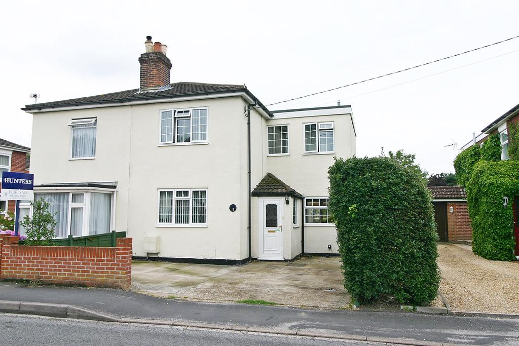 3 Bedrooms Semi Detached House for sale in Woolston Road, Butlocks Heath, Southampton, SO31 5FR