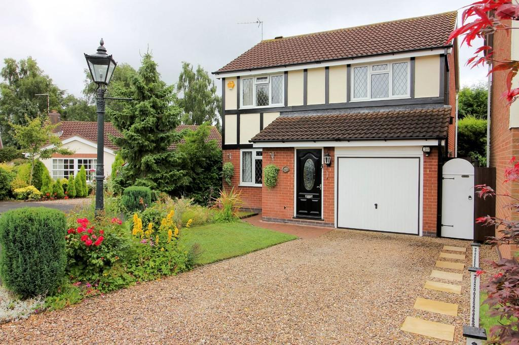 4 Bedrooms Detached House for sale in Wooldale Close, Anstey