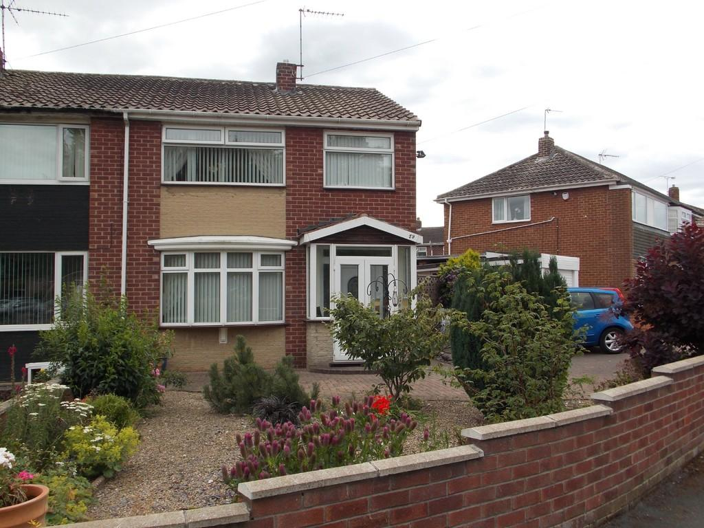 3 Bedrooms Semi Detached House for sale in Stapleton Road, Warmsworth