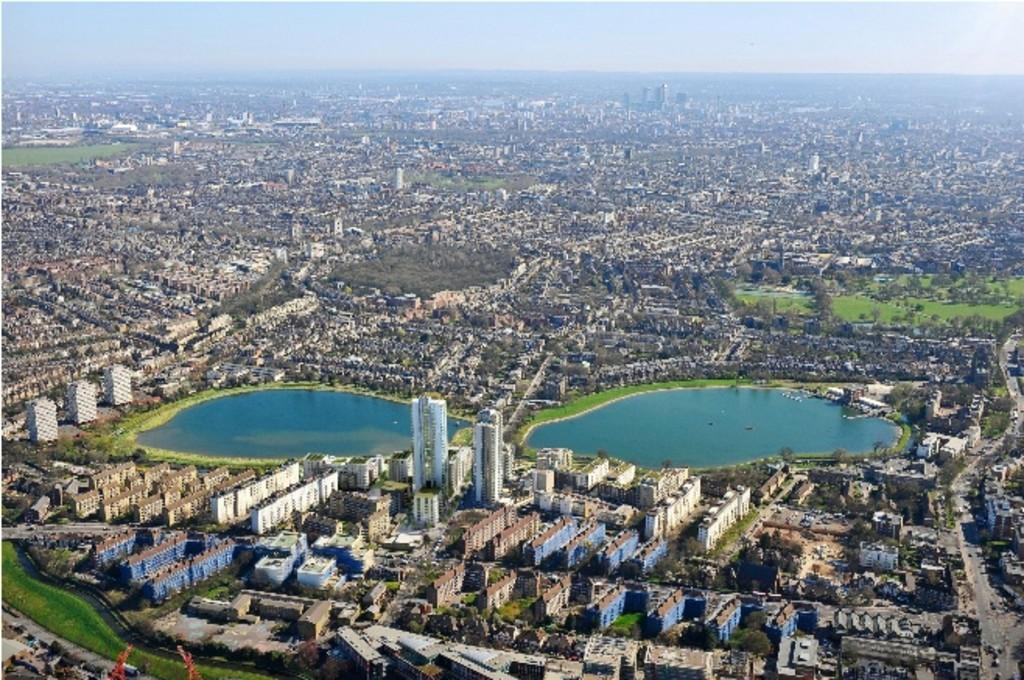 2 Bedrooms Apartment Flat for sale in Sandpiper, Woodberry Down, London