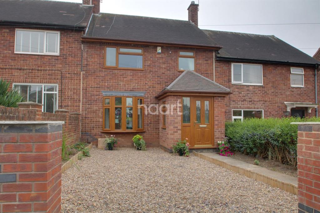 3 Bedrooms Terraced House for sale in Chippenham Road, Bestwood Park, Nottingham.