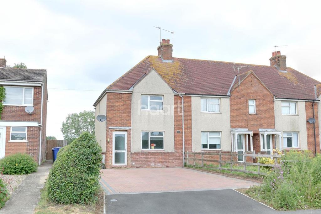 2 Bedrooms Semi Detached House for sale in Paulerspury