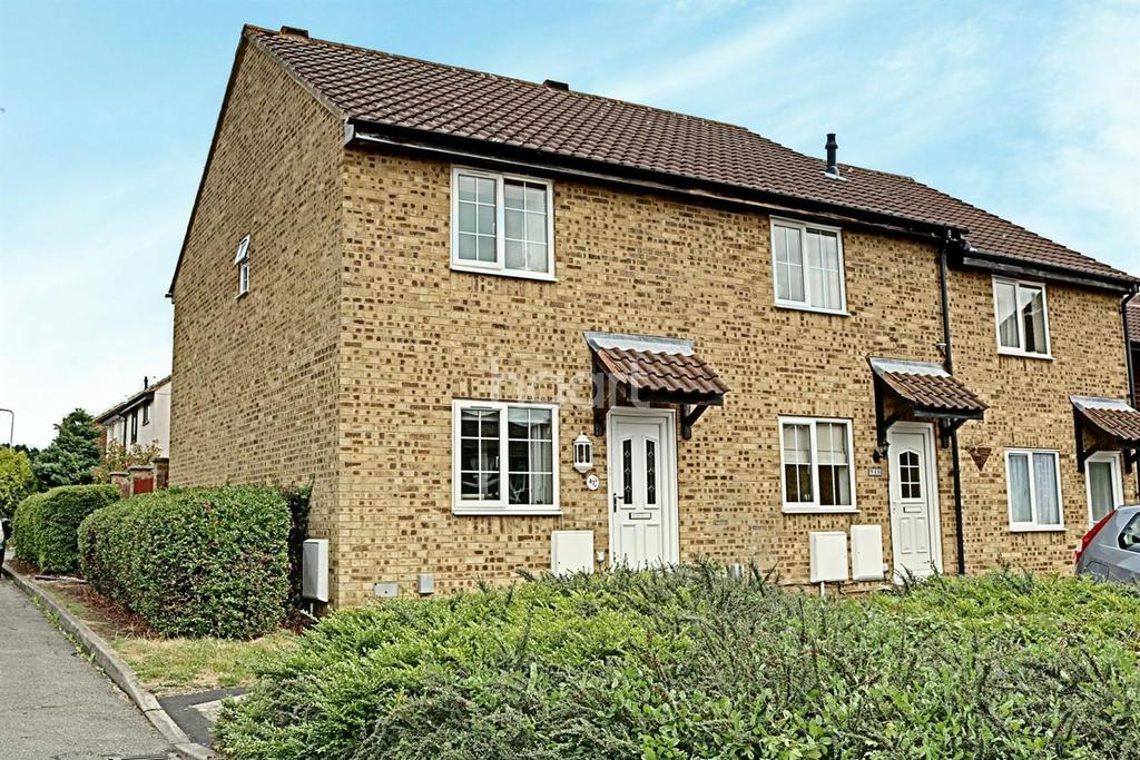 2 Bedrooms End Of Terrace House for sale in Carters Close, Aston Vale, Poplars