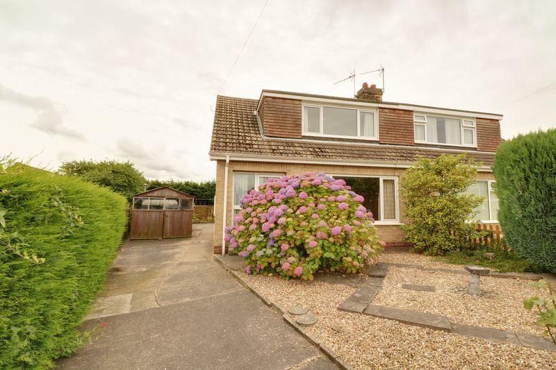 2 Bedrooms Semi Detached Bungalow for sale in Milson Close, Barton-Upon-Humber