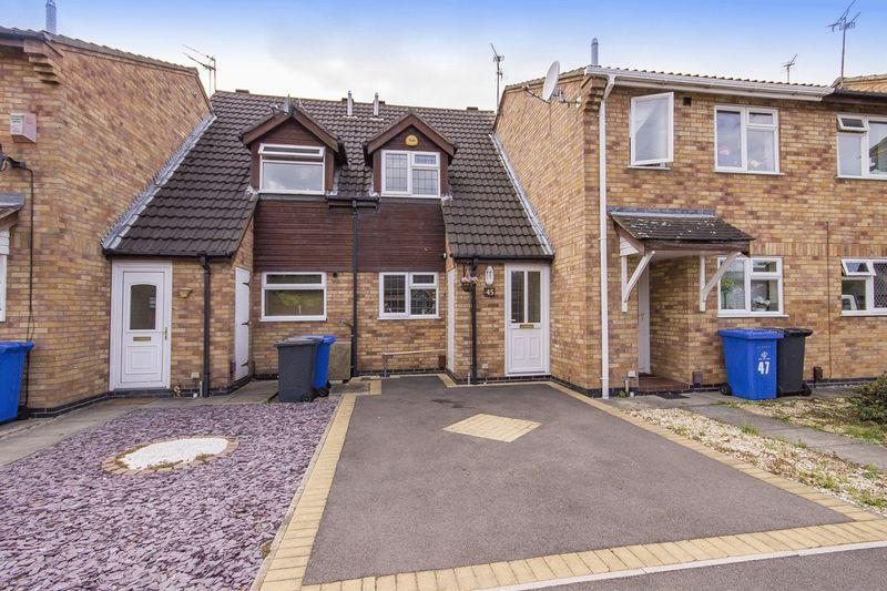 2 Bedrooms Terraced House for sale in NESFIELD CLOSE, ALVASTON