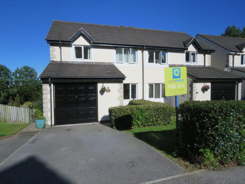 5 Bedrooms Semi Detached House for sale in Kel Avon Close, Truro