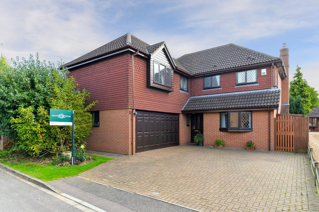 5 Bedrooms Detached House for sale in Highfields, Westoning, MK45