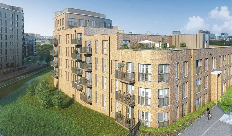 2 Bedrooms Apartment Flat for sale in Connersville Way, Croydon
