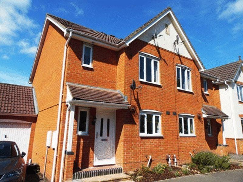 3 Bedrooms Semi Detached House for sale in 3 Bedroom semi-detached house Foxglove Drive, Trowbridge