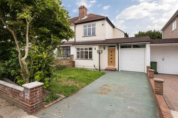 2 Bedrooms Semi Detached House for sale in Winchester Road, Bexleyheath, DA7