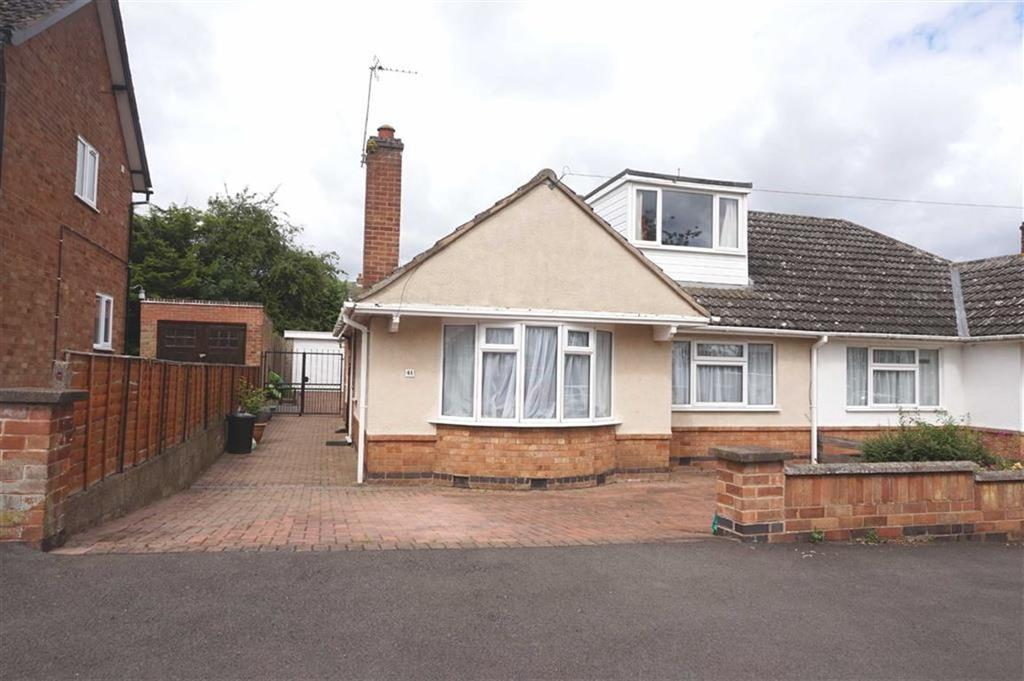 3 Bedrooms Bungalow for sale in Highcroft Avenue, Oadby, Leicester