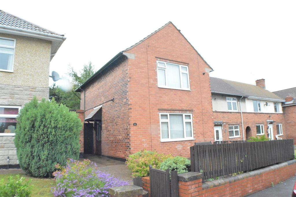 3 Bedrooms End Of Terrace House for sale in Laurel Avenue, Church Warsop, Mansfield