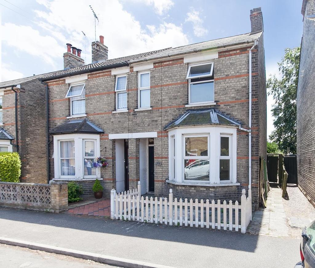 3 Bedrooms Semi Detached House for sale in Harsnett Road, Colchester, Essex, CO1
