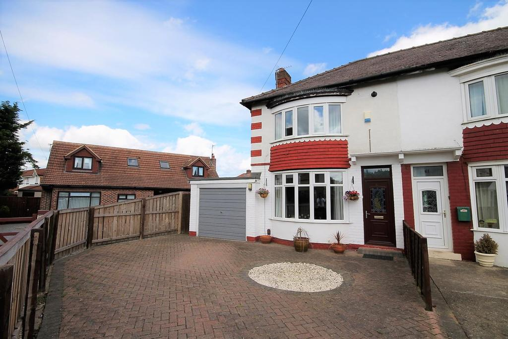 2 Bedrooms End Of Terrace House for sale in Craigweil Crescent, Stockton-On-Tees