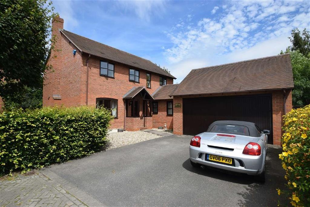 4 Bedrooms Detached House for sale in Astley Court, Shrewsbury, Shrewsbury