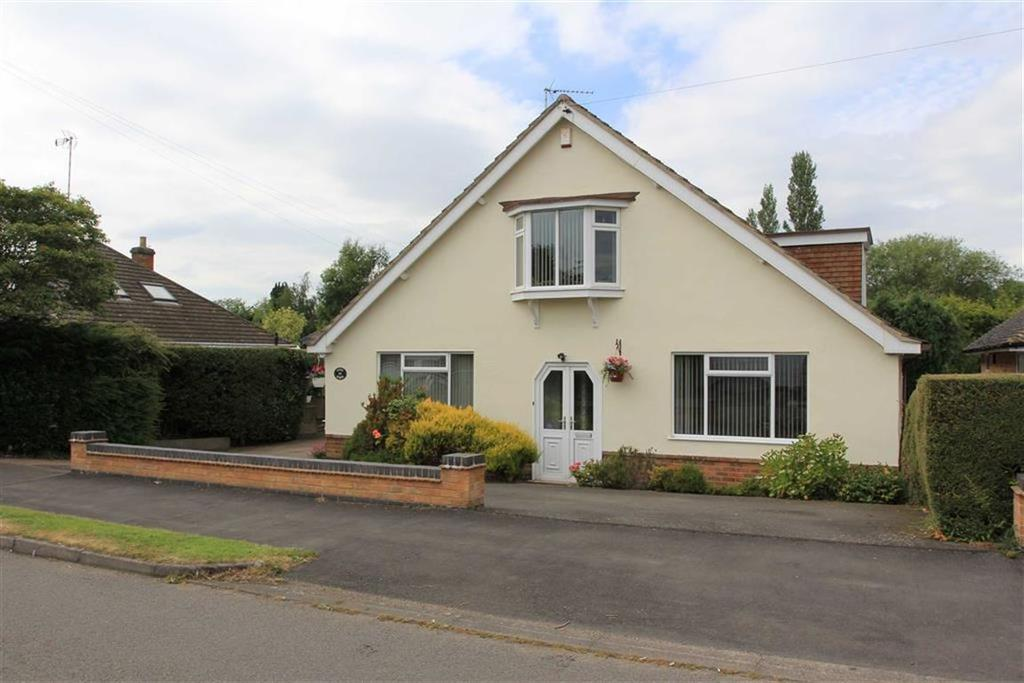 4 Bedrooms Detached Bungalow for sale in Barry Drive, Kirby Muxloe, Leicestershire