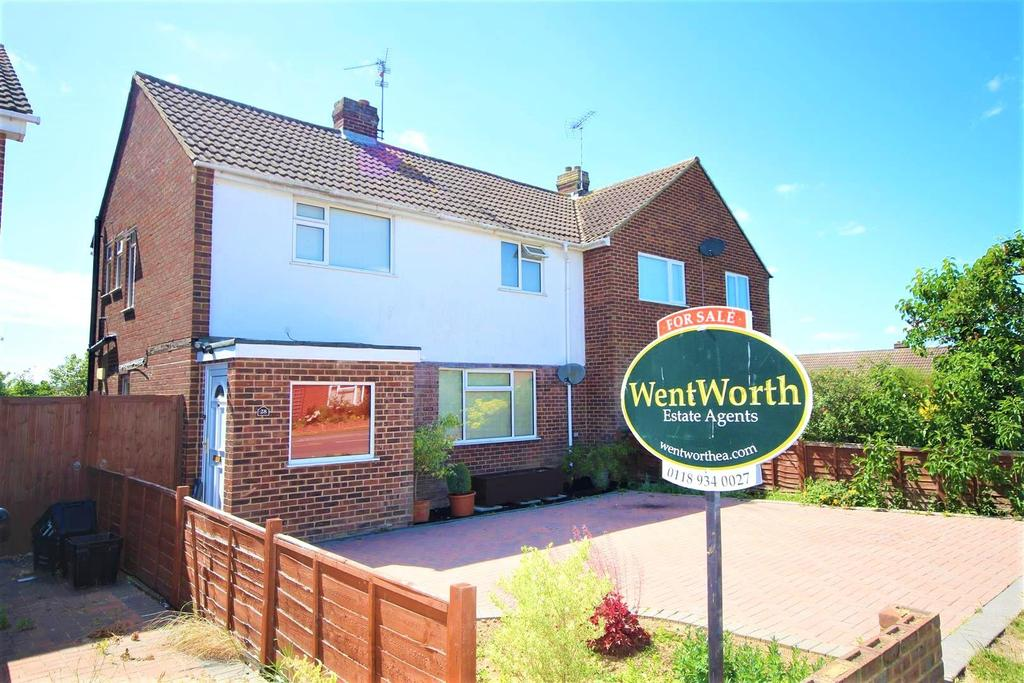 3 Bedrooms Semi Detached House for sale in Hilltop Road, Twyford, Reading