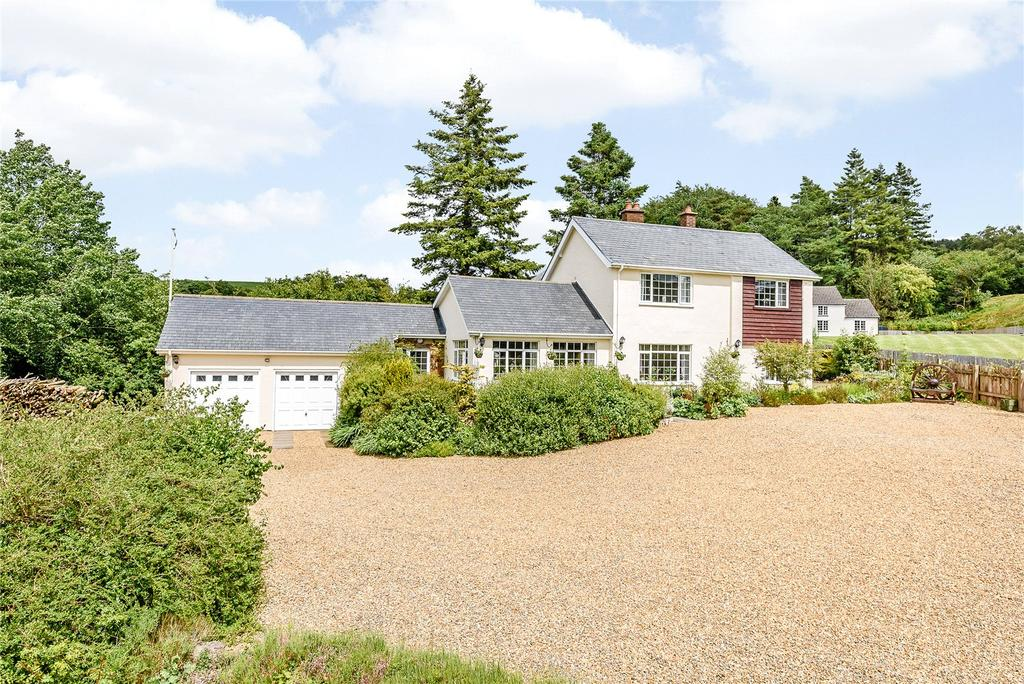 4 Bedrooms Detached House for sale in Van, Llanidloes, Powys