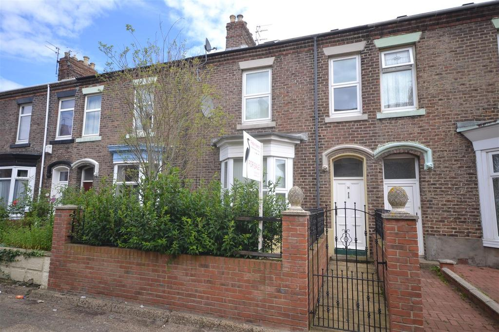 3 Bedrooms Terraced House for sale in Rosslyn Terrace, Millfield, Sunderland