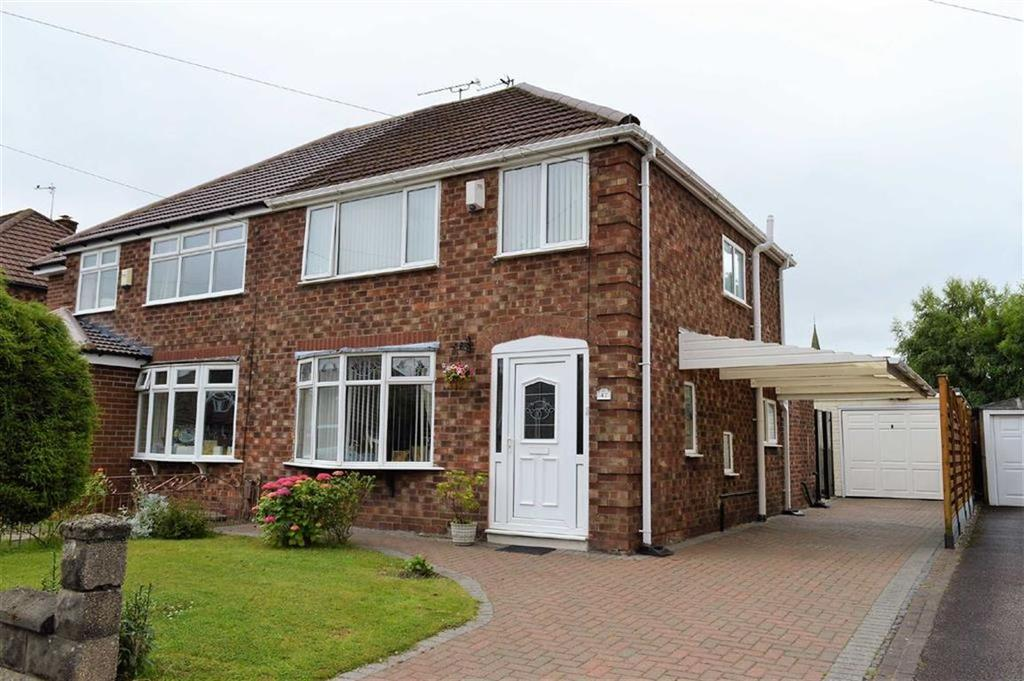3 Bedrooms Semi Detached House for sale in Stanhope Drive, CH62