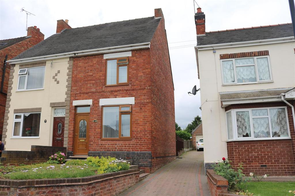 3 Bedrooms Semi Detached House for sale in Dordon Road, Dordon, Tamworth