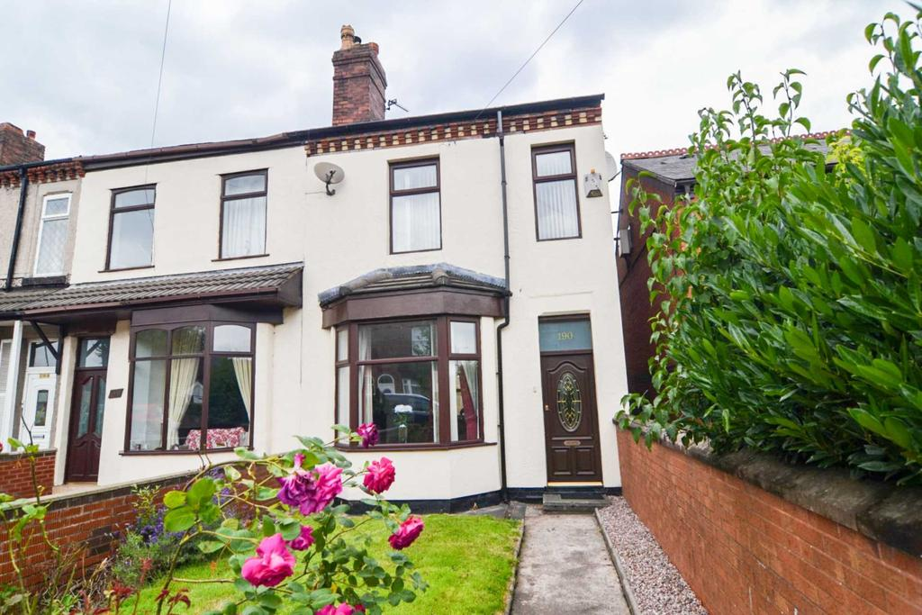 3 Bedrooms End Of Terrace House for sale in Crow Lane West, Newton Le Willows