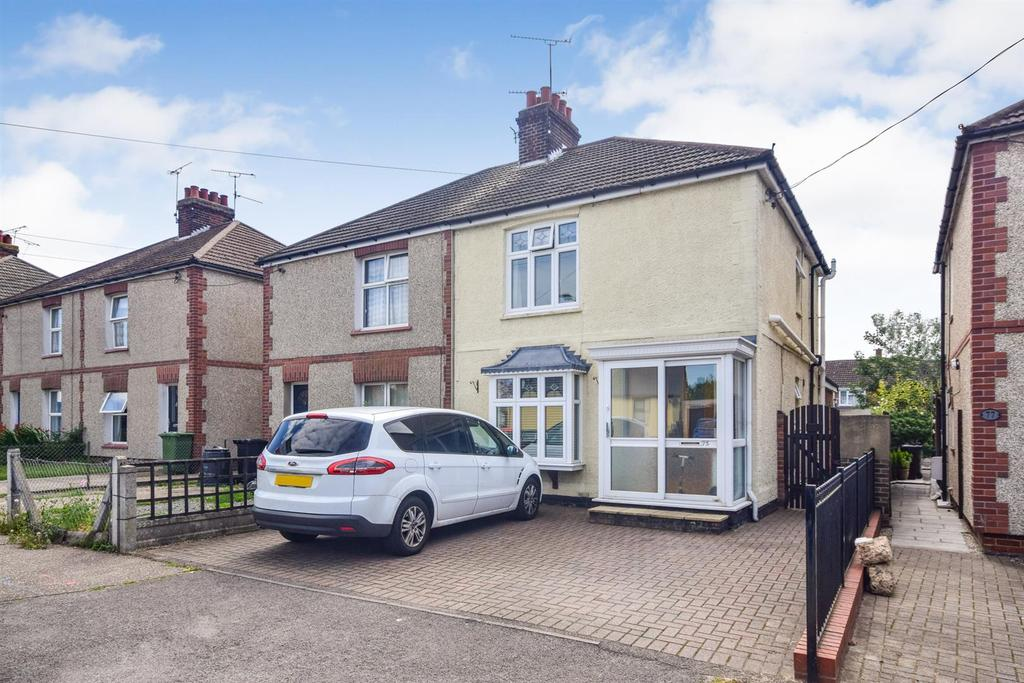 3 Bedrooms Semi Detached House for sale in Cross Road, Maldon