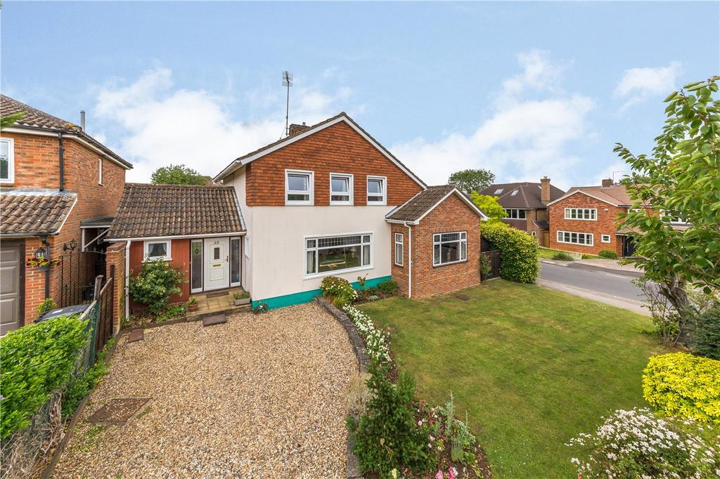 4 Bedrooms Detached House for sale in Wood End Hill, Harpenden, Hertfordshire