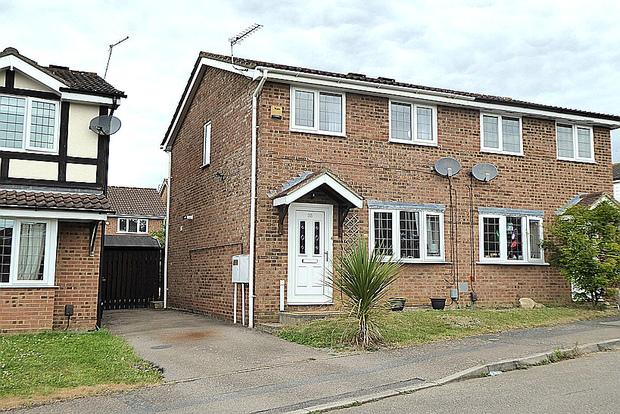 2 Bedrooms Semi Detached House for sale in Sandover, East Hunsbury, Northampton, NN4