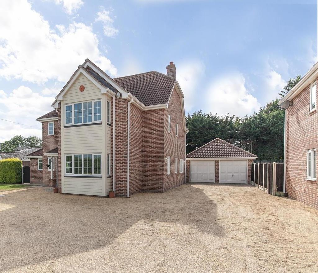 4 Bedrooms Detached House for sale in Frating Road, Great Bromley, Colchester, Essex, CO7