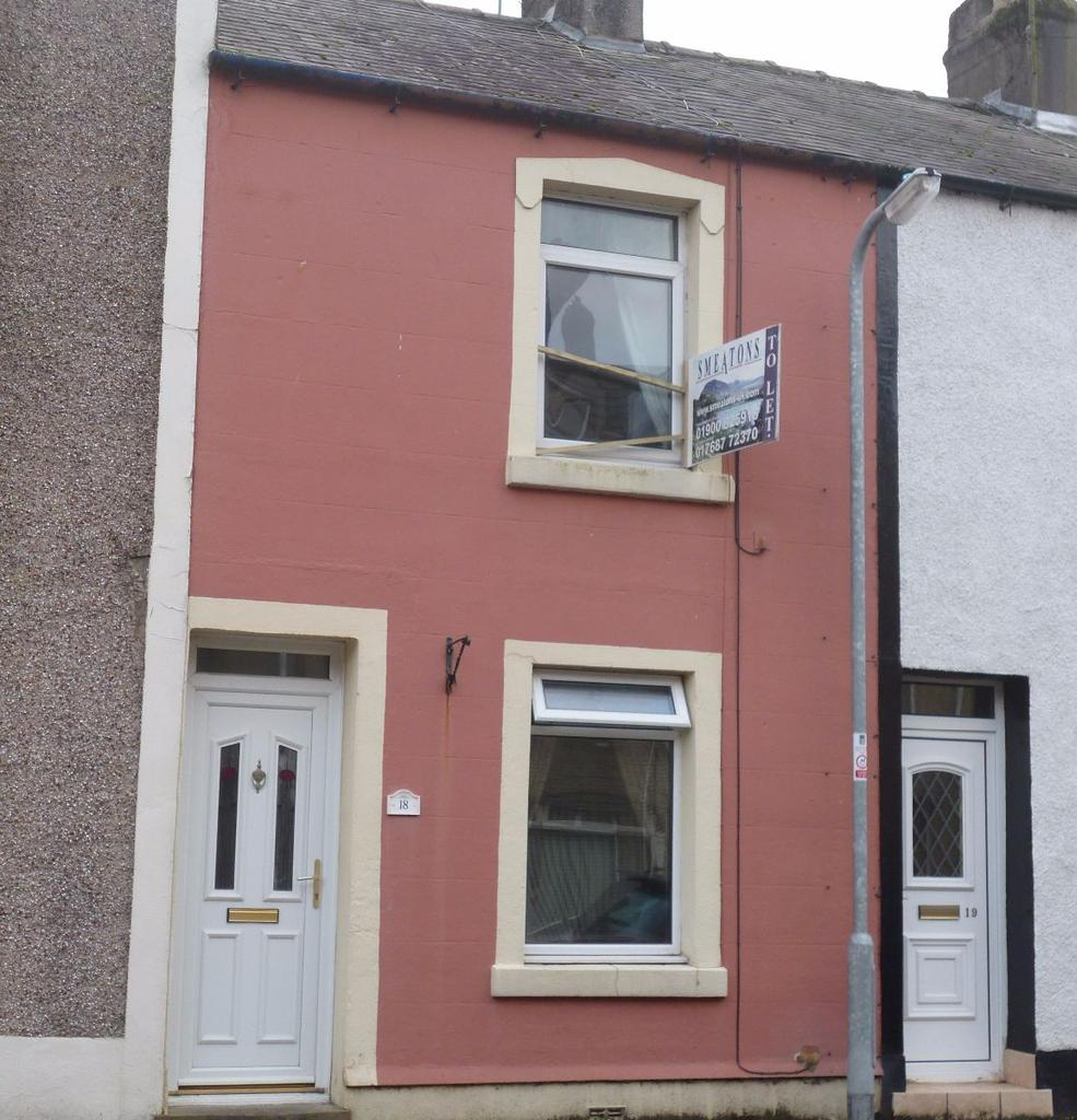 2 Bedrooms Terraced House for sale in 18 Penzance Street, Moor Row, Cumbria, CA24 3JH
