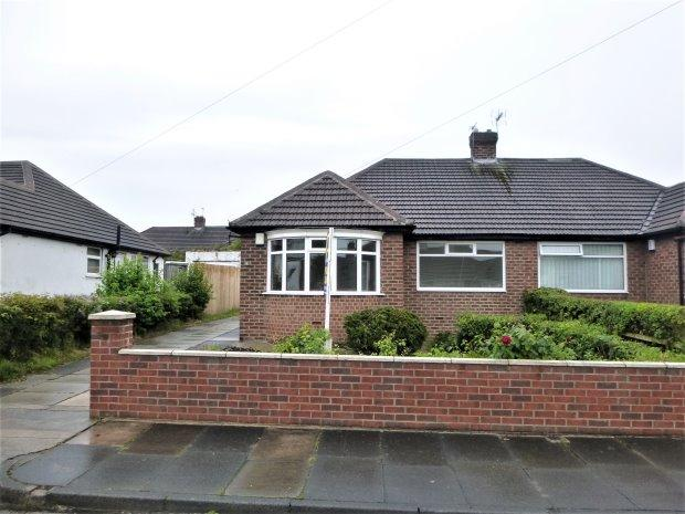 2 Bedrooms Semi Detached Bungalow for sale in FAIRLAWN GARDENS, HIGH BARNES, SUNDERLAND SOUTH