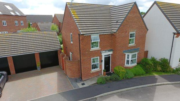 4 Bedrooms Detached House for sale in MARSKE WAY, SPENNYMOOR, SPENNYMOOR DISTRICT