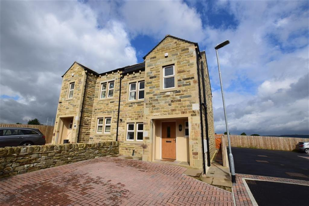 3 Bedrooms Semi Detached House for sale in High Lane, Hall Bower, Huddersfield, HD4
