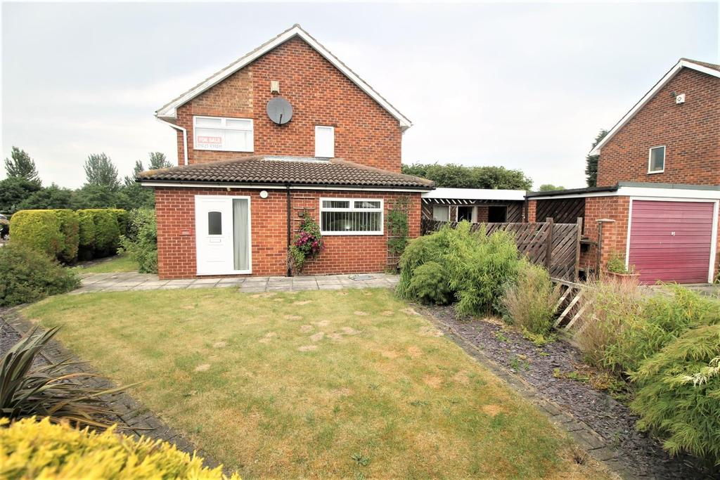 3 Bedrooms Semi Detached House for sale in Heather Close, Stockton-On-Tees