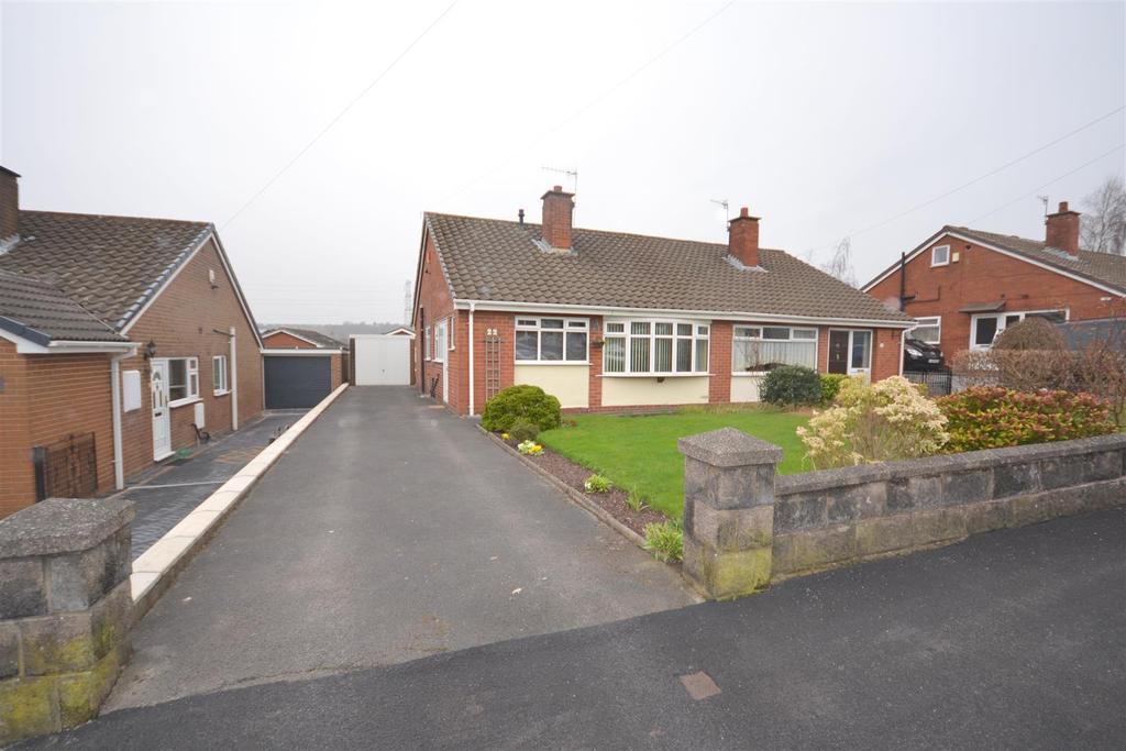 2 Bedrooms Semi Detached Bungalow for sale in Wallis Way, Baddeley Green, Stoke-On-Trent