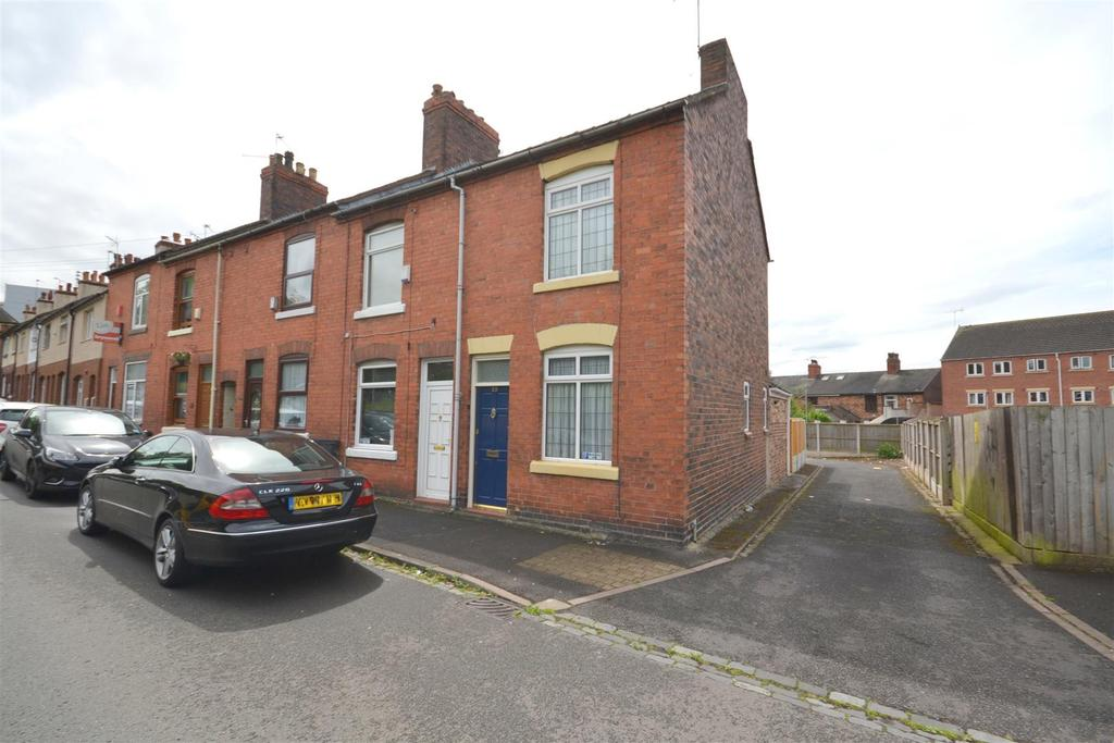 2 Bedrooms End Of Terrace House for sale in Dunkirk, Newcastle under Lyme