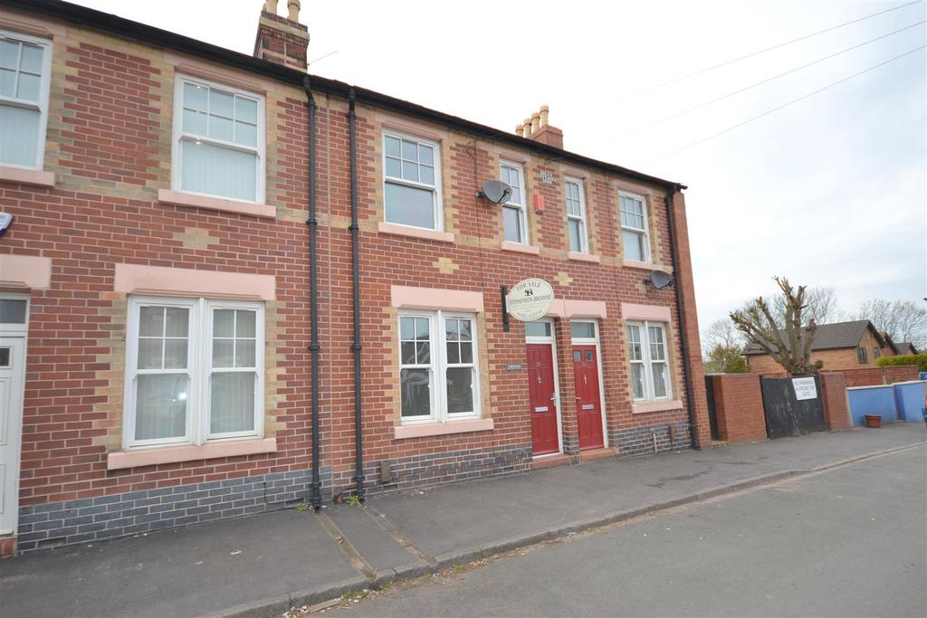 4 Bedrooms Terraced House for sale in Nash Street, Knutton, Newcastle