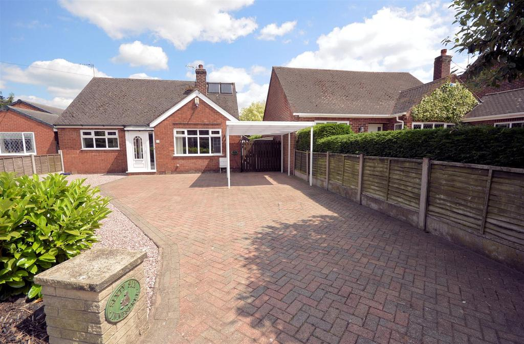 3 Bedrooms Detached Bungalow for sale in Vicarage Lane, Elworth, Sandbach